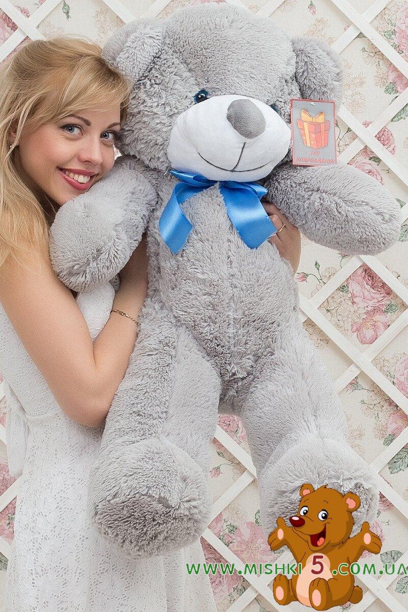 Фото большого медведя плюшевого